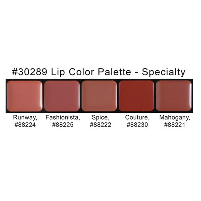 HD Lip Color Palette - Specialty by graftobian #3