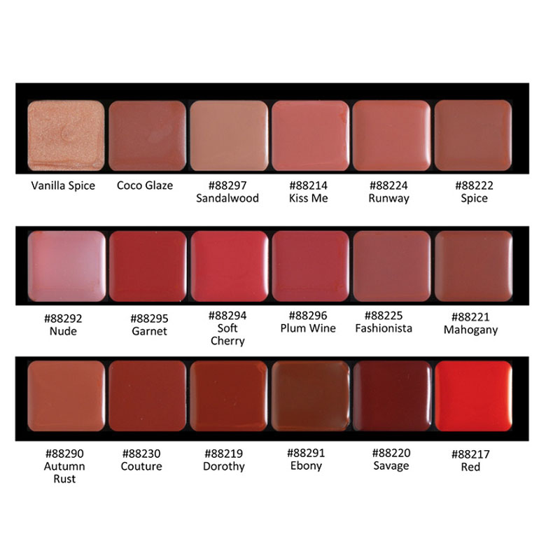 HD Lip Color Palette - Specialty by graftobian #19